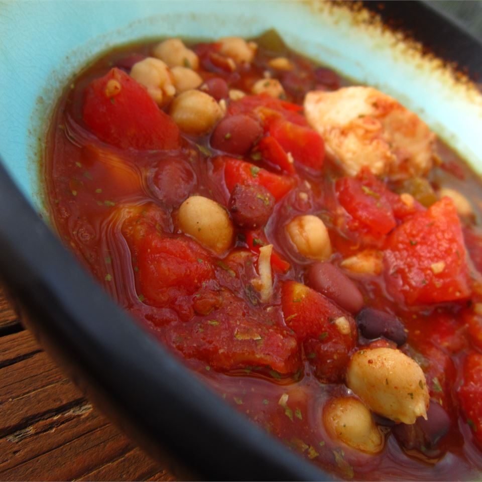 Chicken and Two Bean Chili pomplemousse