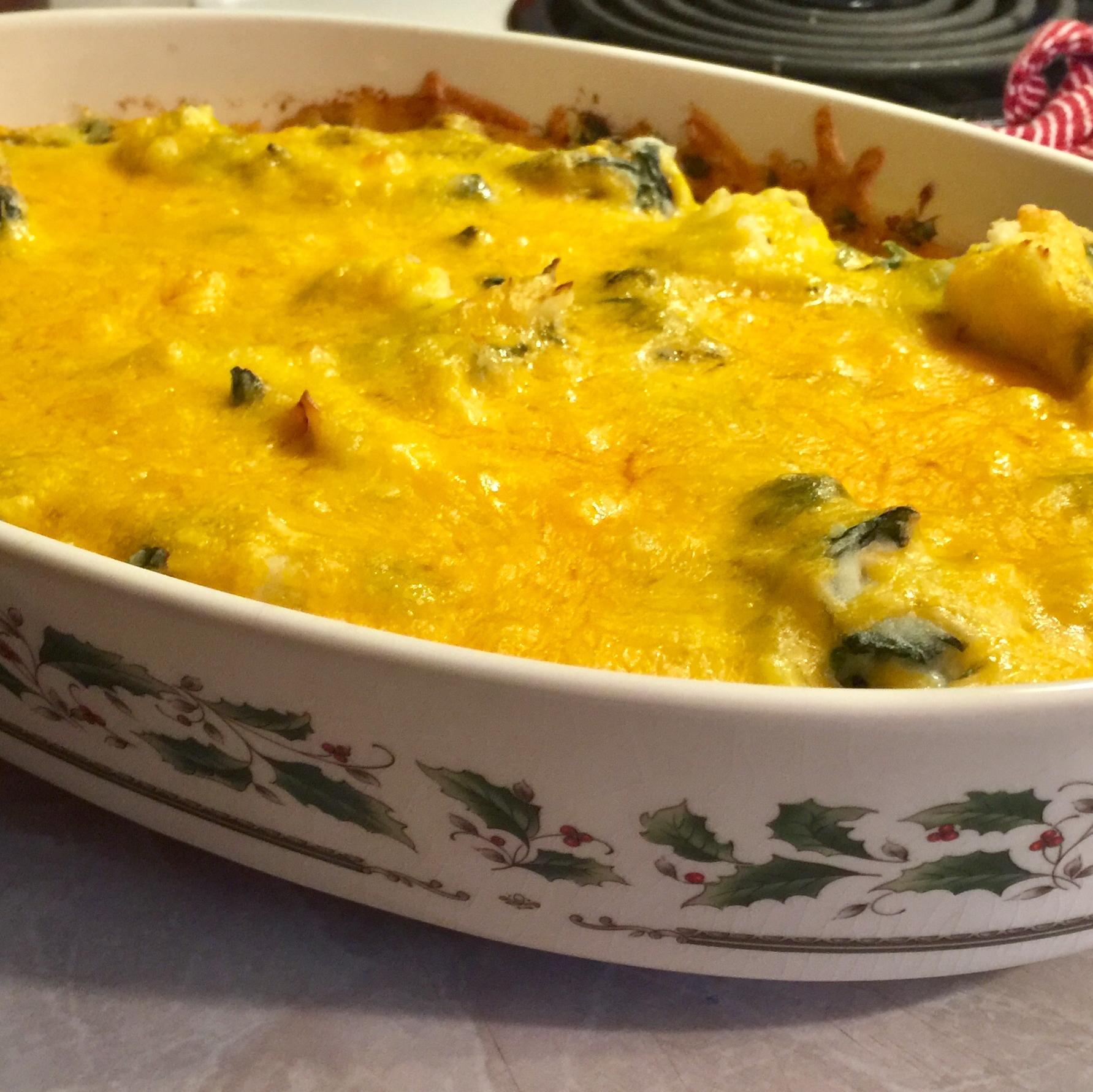 Potato Spinach Casserole lucyk