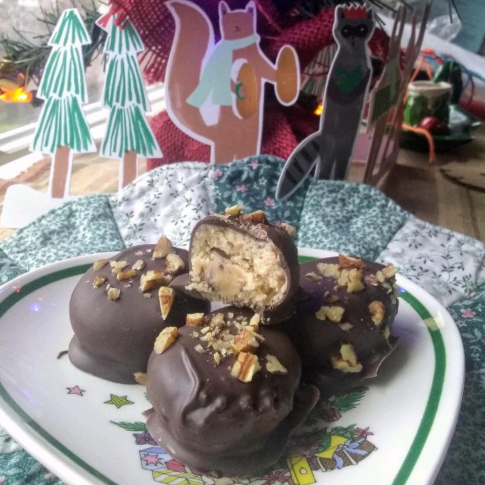 No-Bake Cookie Dough Truffles Joel Haubenreich