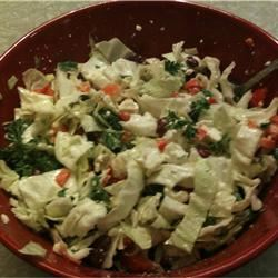 Red Bean Salad with Feta and Peppers Jamie Justice Yost