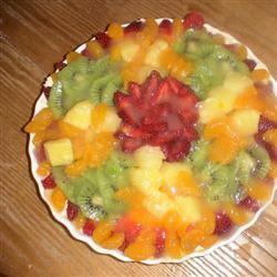 White Chocolate Fruit Tart