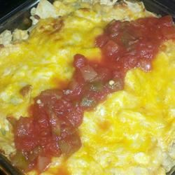 Mexican Tortilla Chicken Casserole sbmclemore