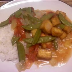 Braised Green Beans with Fried Tofu OtisMcGinty