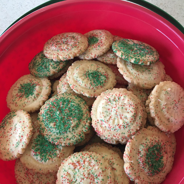 Powdered Sugar Cookies I