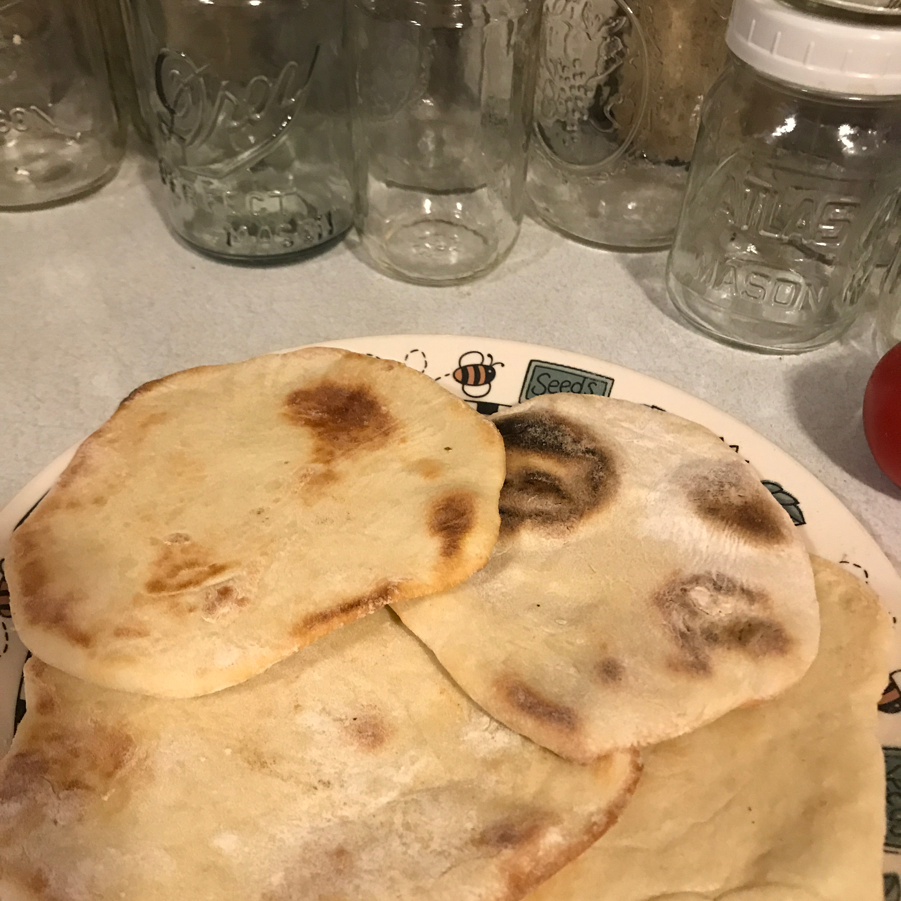 Traditional Pita Breads Michael Miller