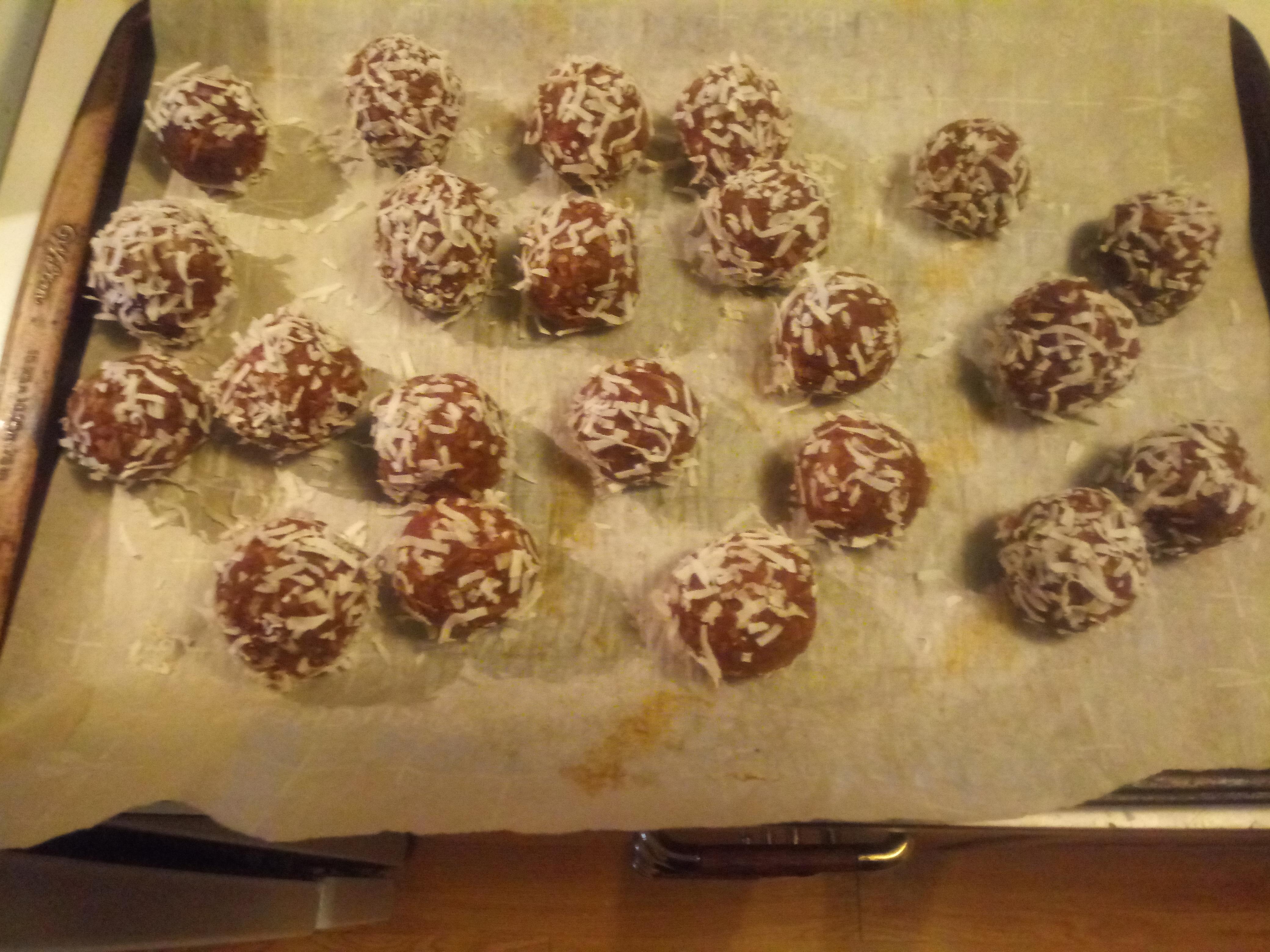 Hungarian Coconut Balls