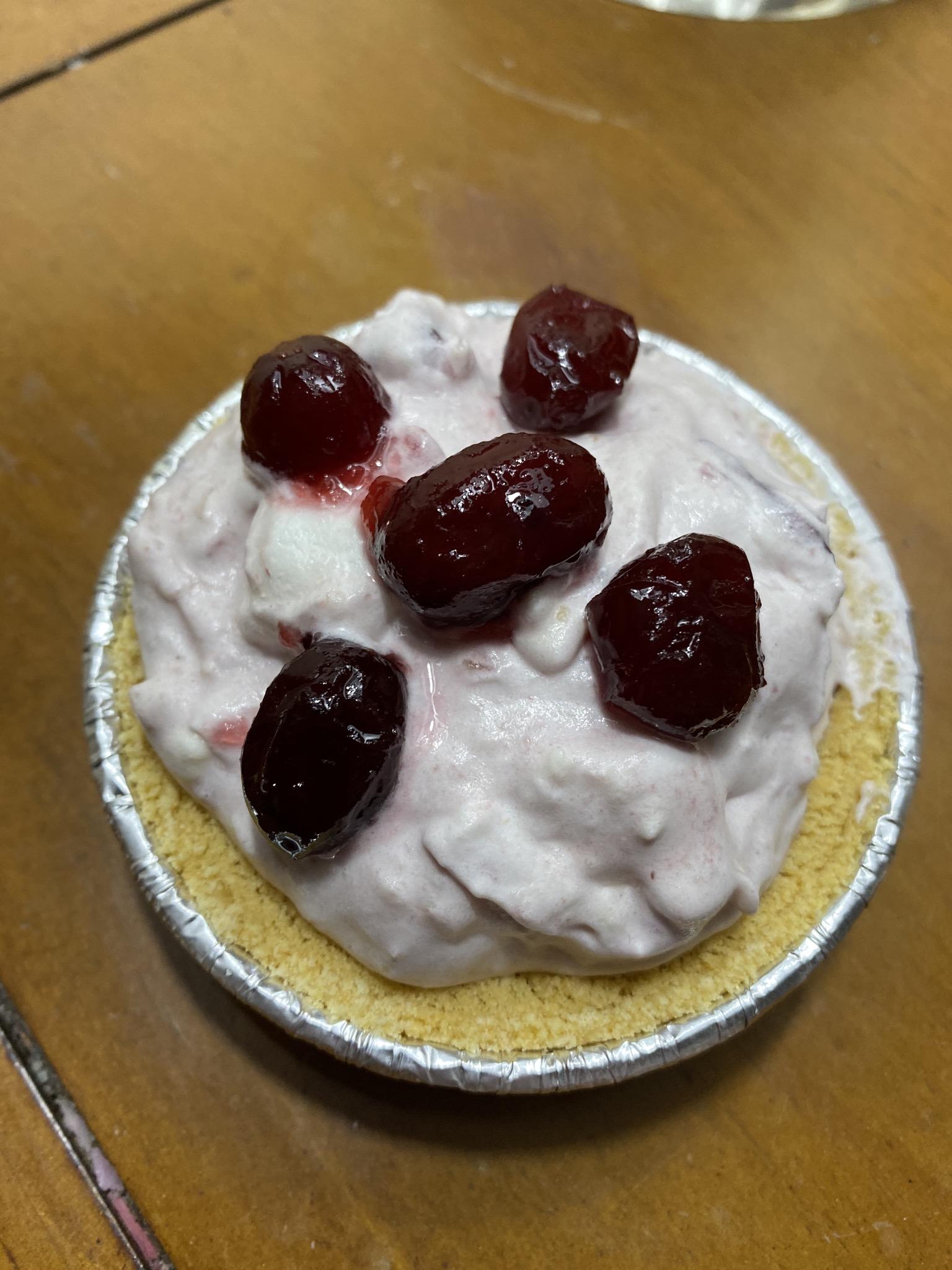 Cranberry Arctic Freeze Pie