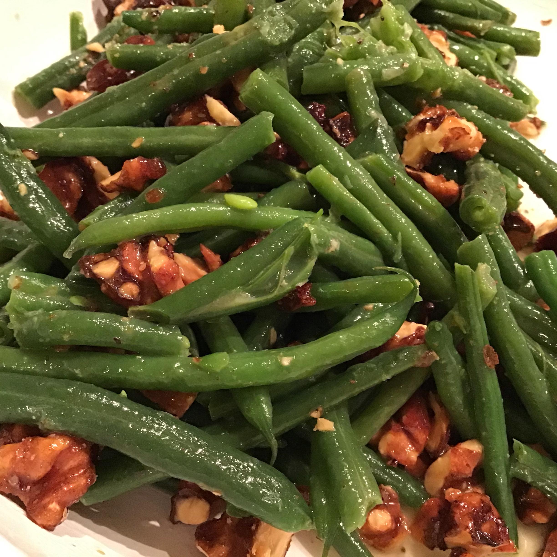 Lemon Green Beans with Walnuts Nenah B