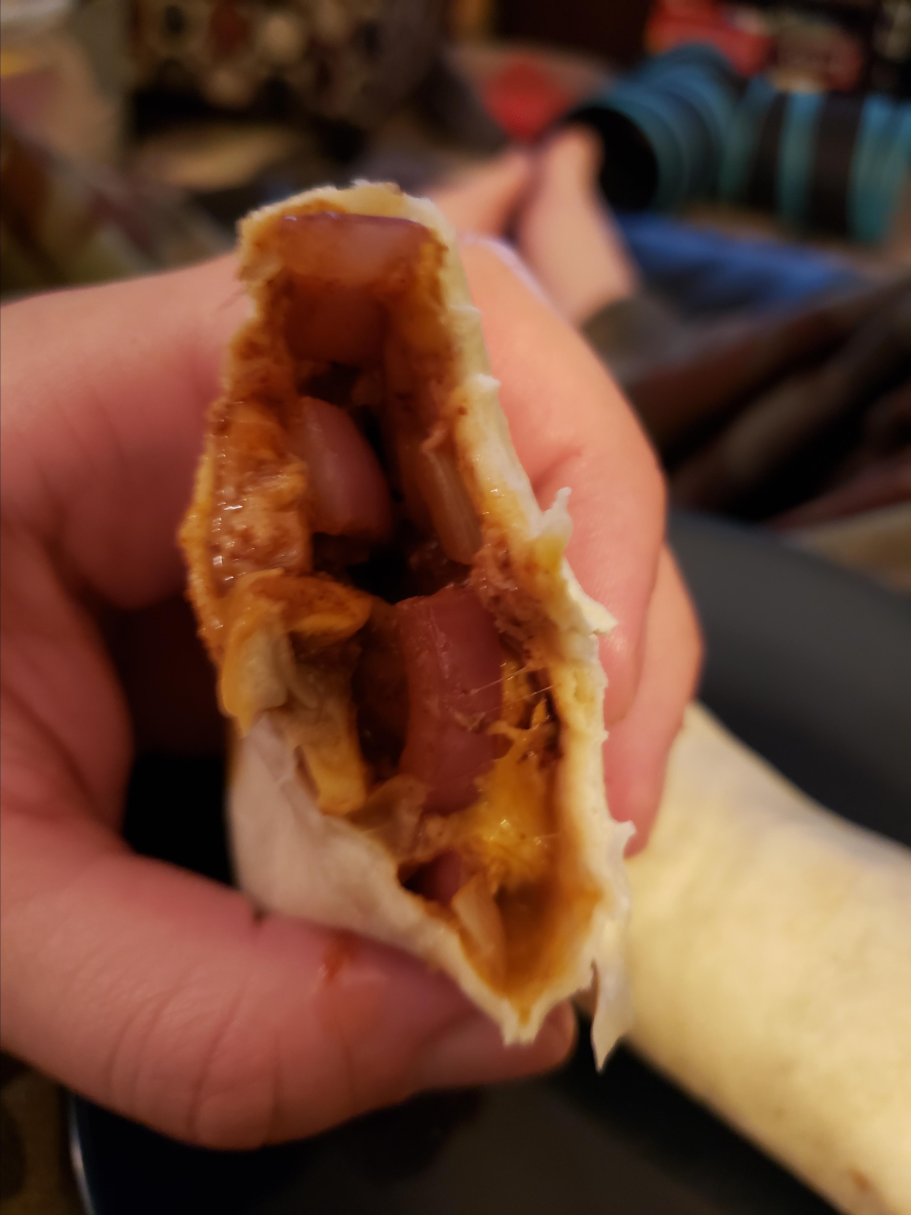 Mushroom and Onion Vegetarian Tacos Old El Paso