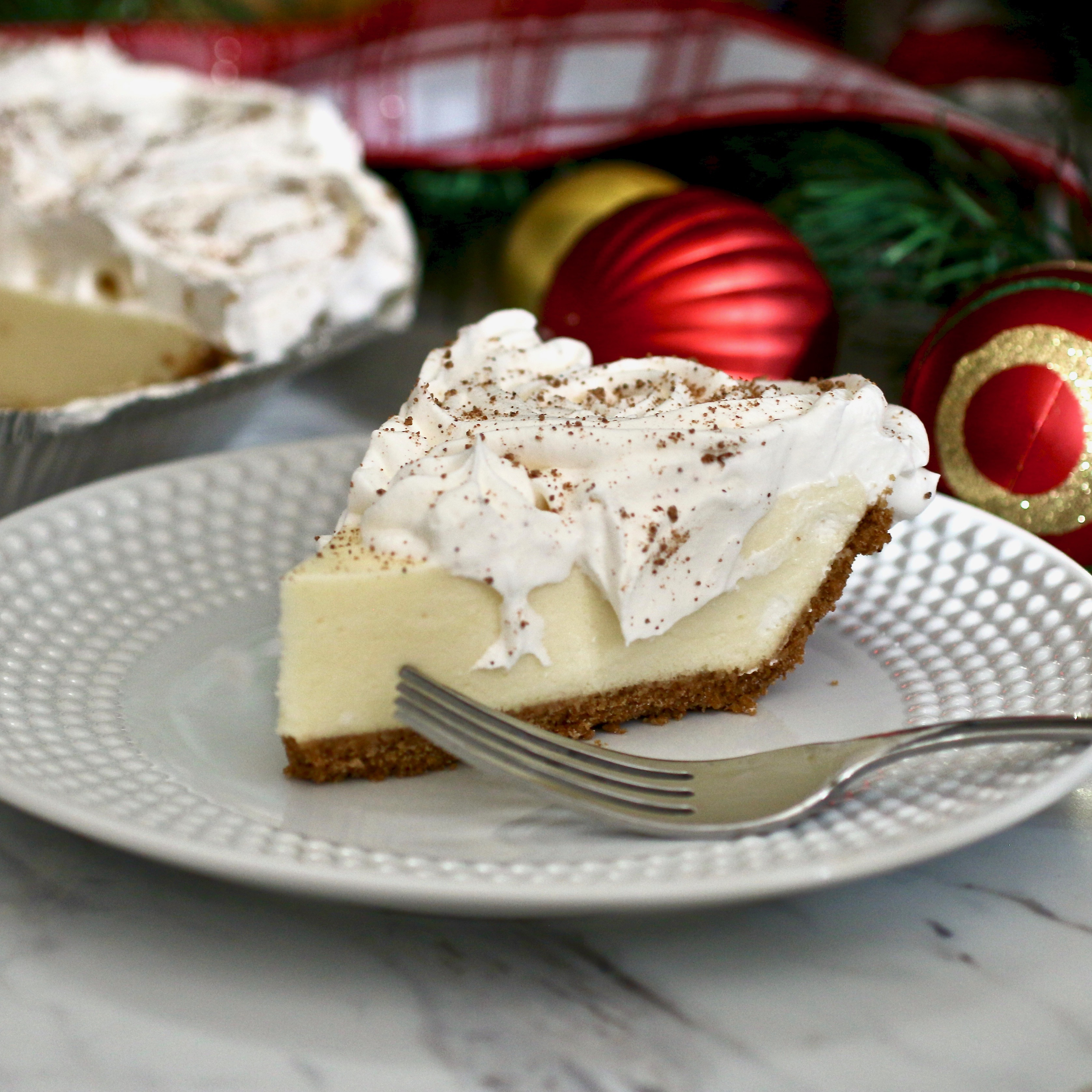 Eggnog Pie My Hot Southern Mess