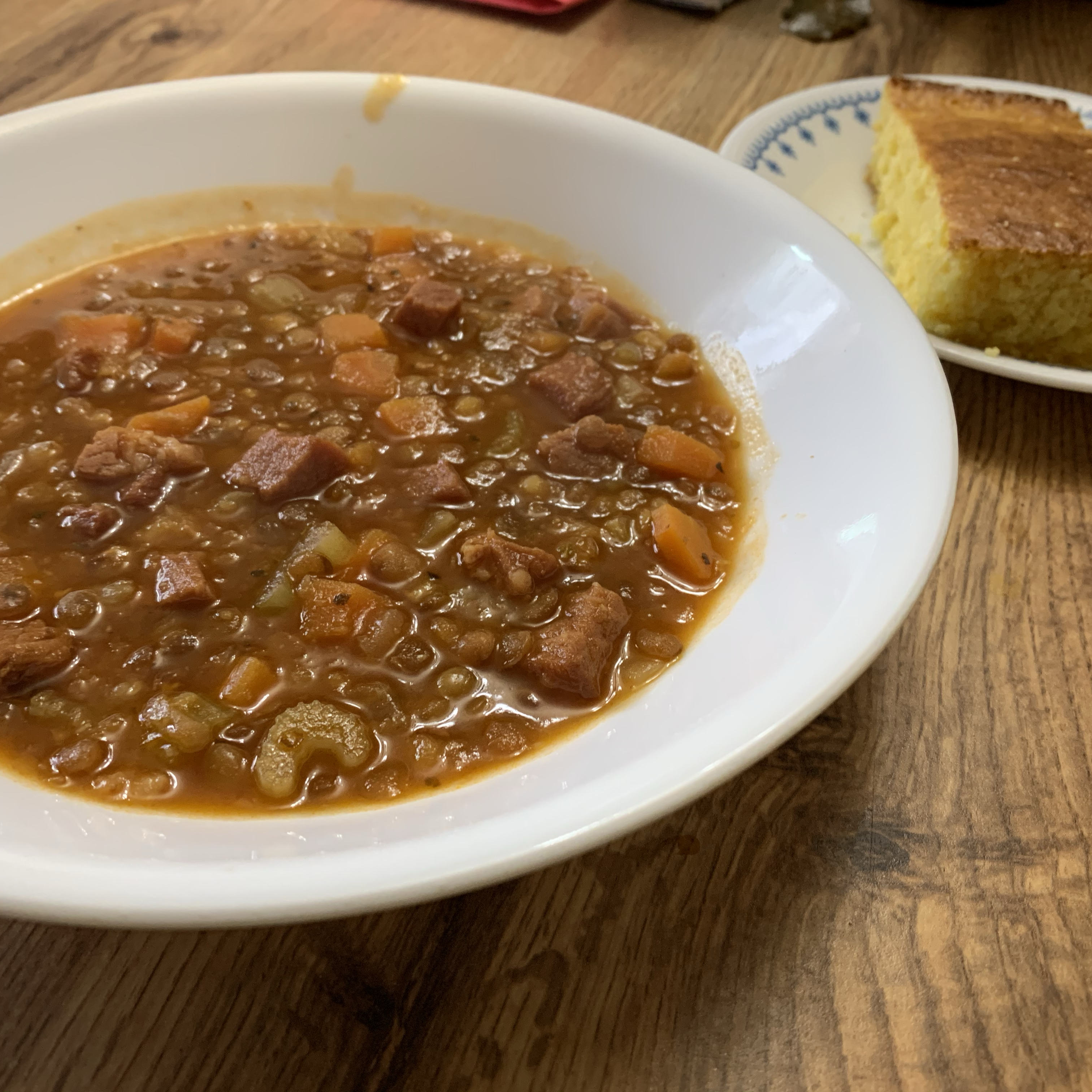 Instant Pot® Lentil and Ham Soup Allen