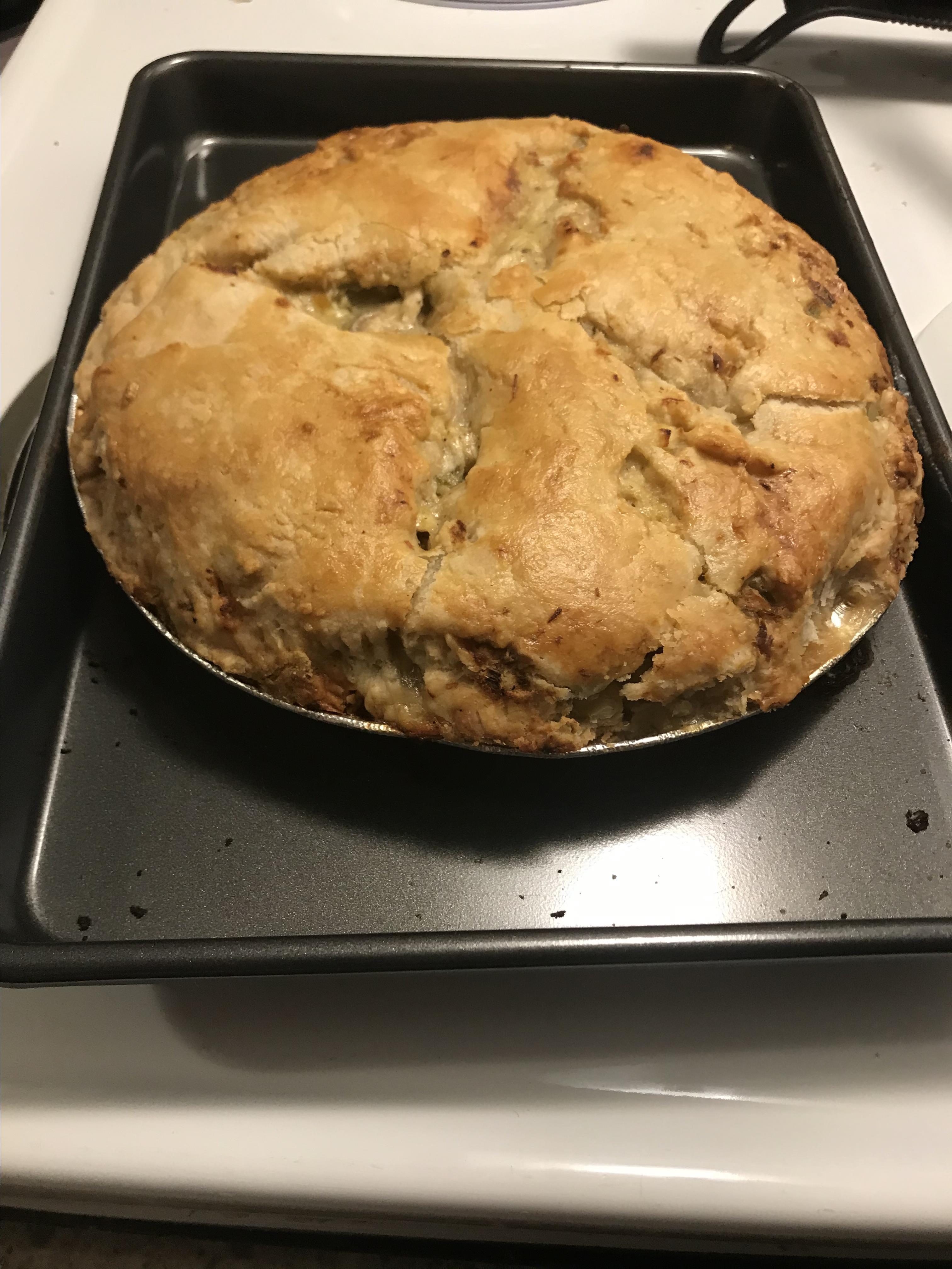 To-Die-For Chicken Pot Pie Lynnette Leger