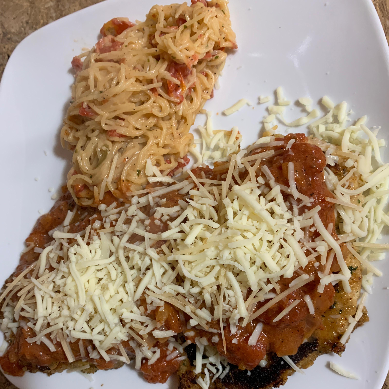 Homemade Chicken Parmigiana