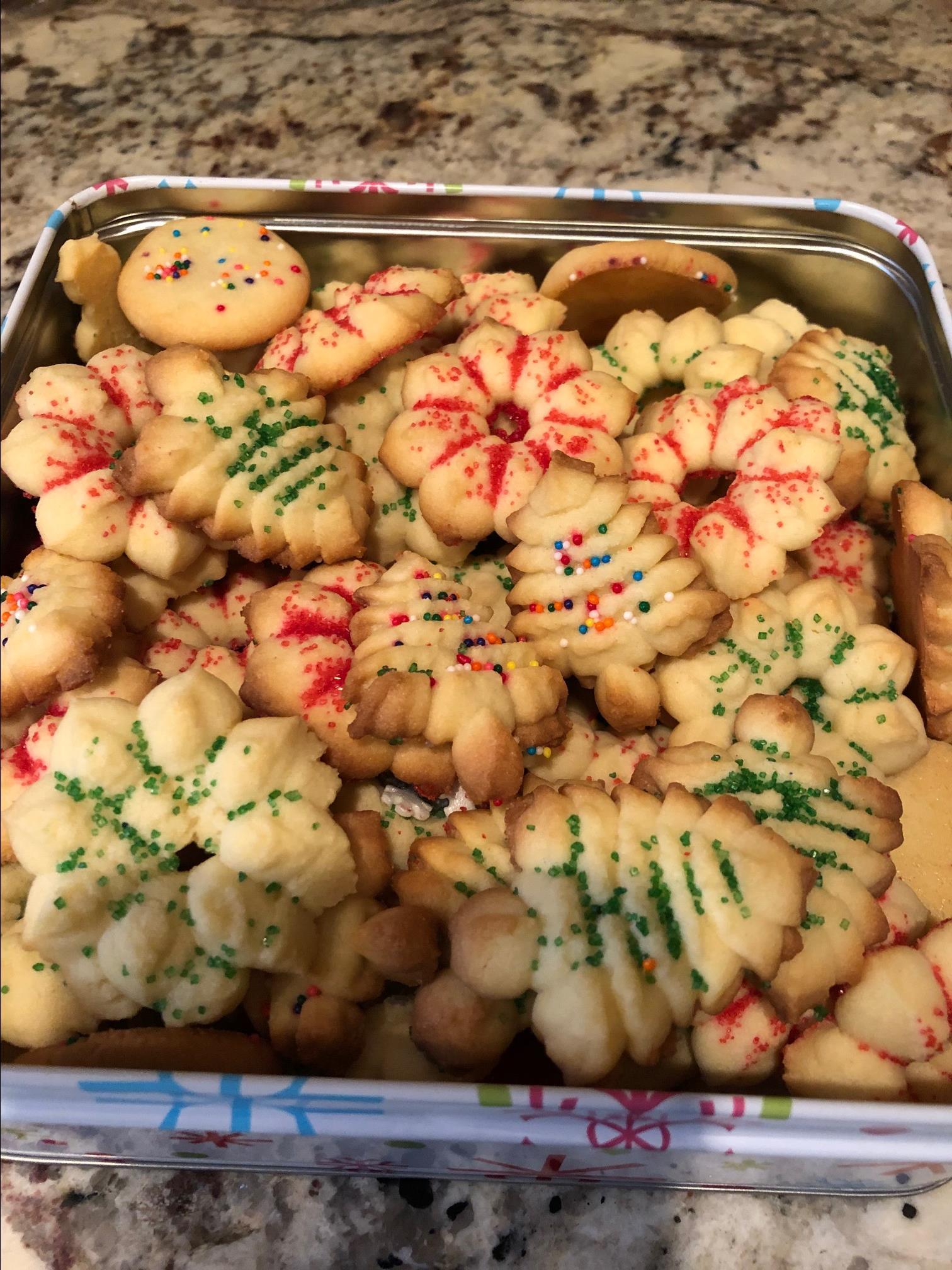 Spritz Cookies II