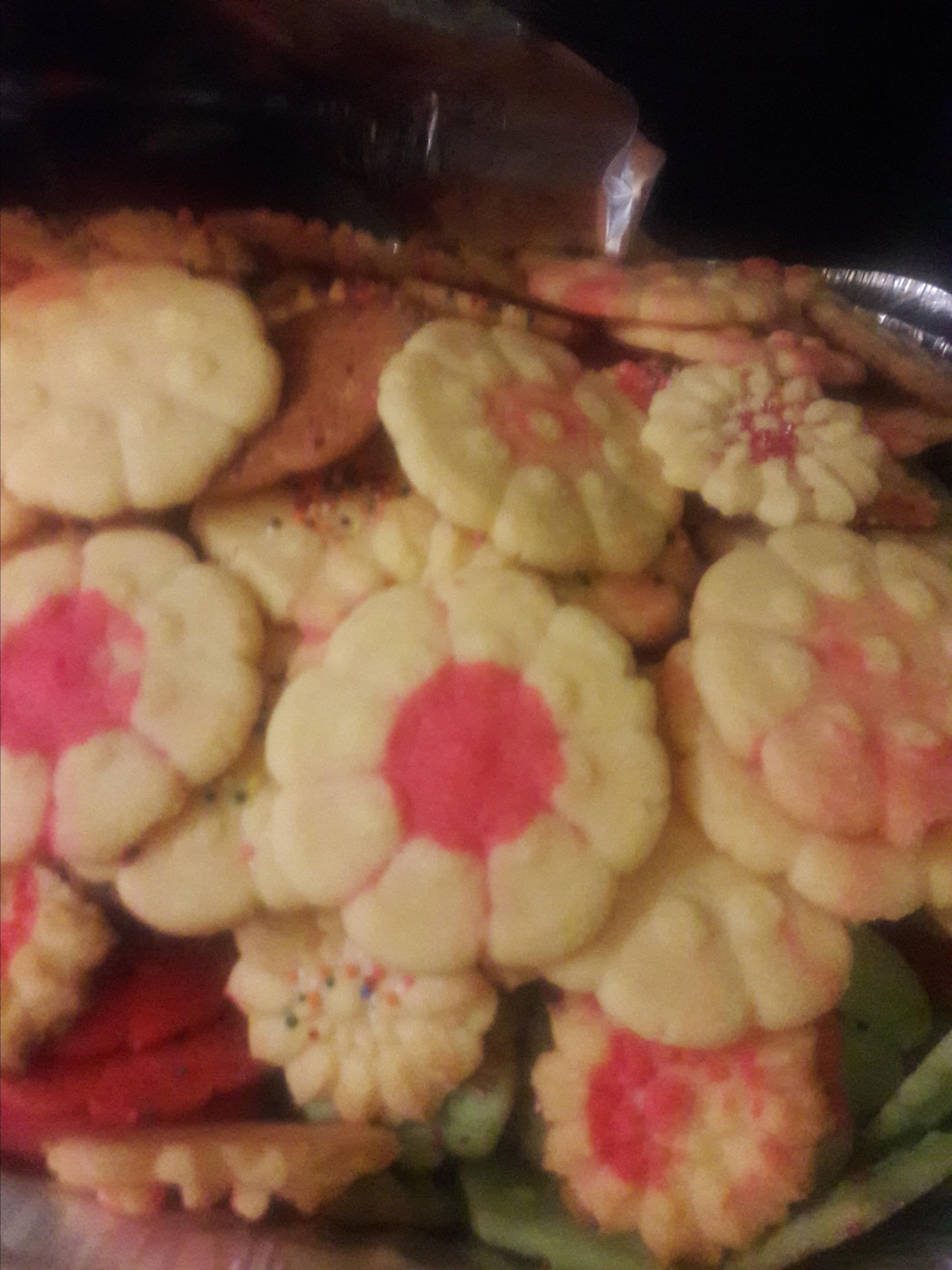 Gelatin Spritz Cookies