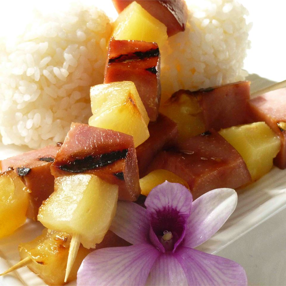 Ham and Pineapple Kabobs OkinawanPrincess