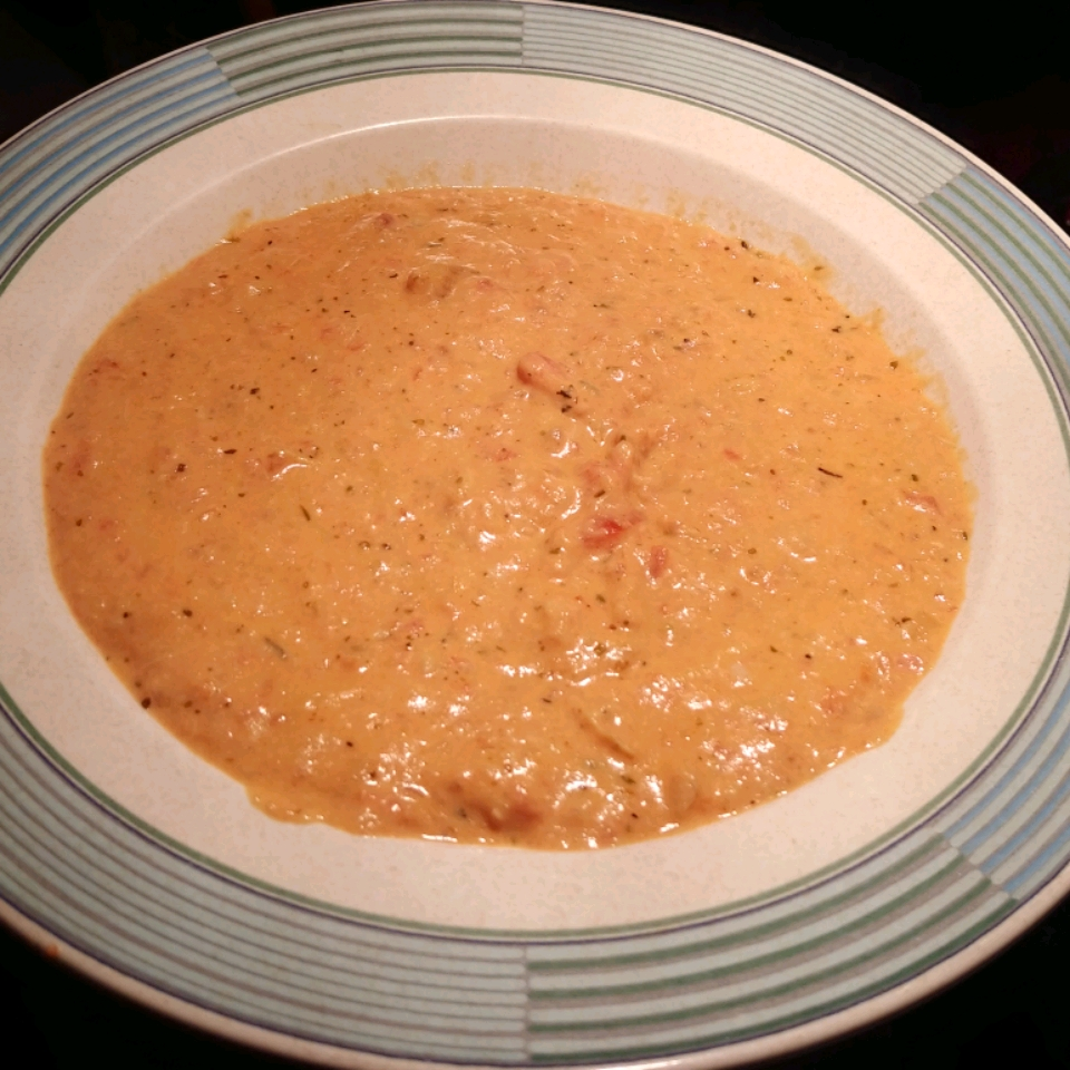 Tuscan Tomato Artichoke Soup suzannahmay