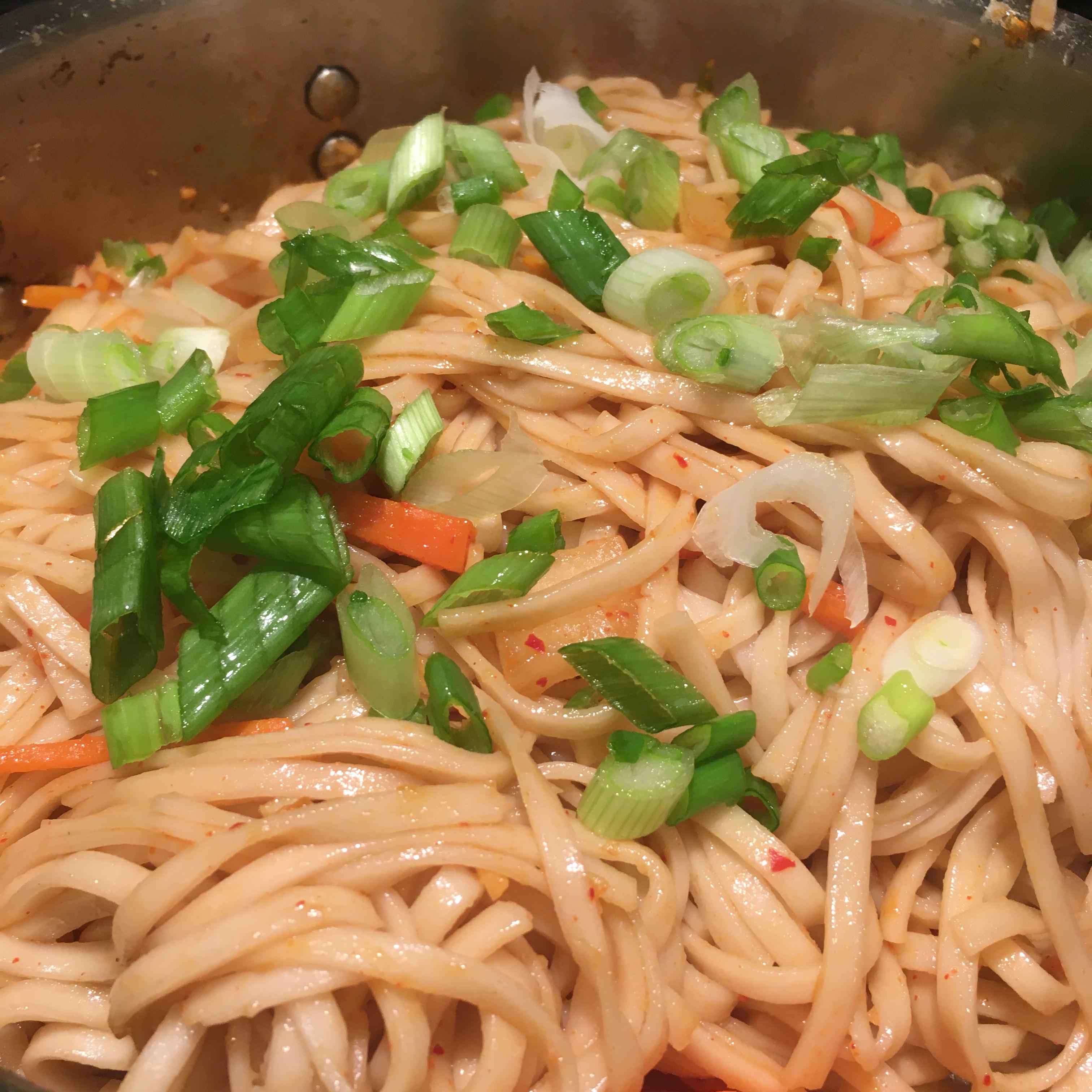 Kimchi Udon Noodle Stir-Fry barbara