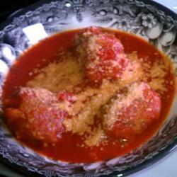 Spaghetti Sauce with Turkey Meatballs