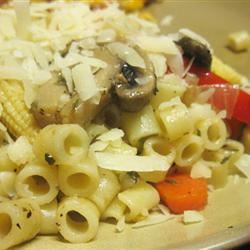 Pasta and Vegetable Saute mommyluvs2cook