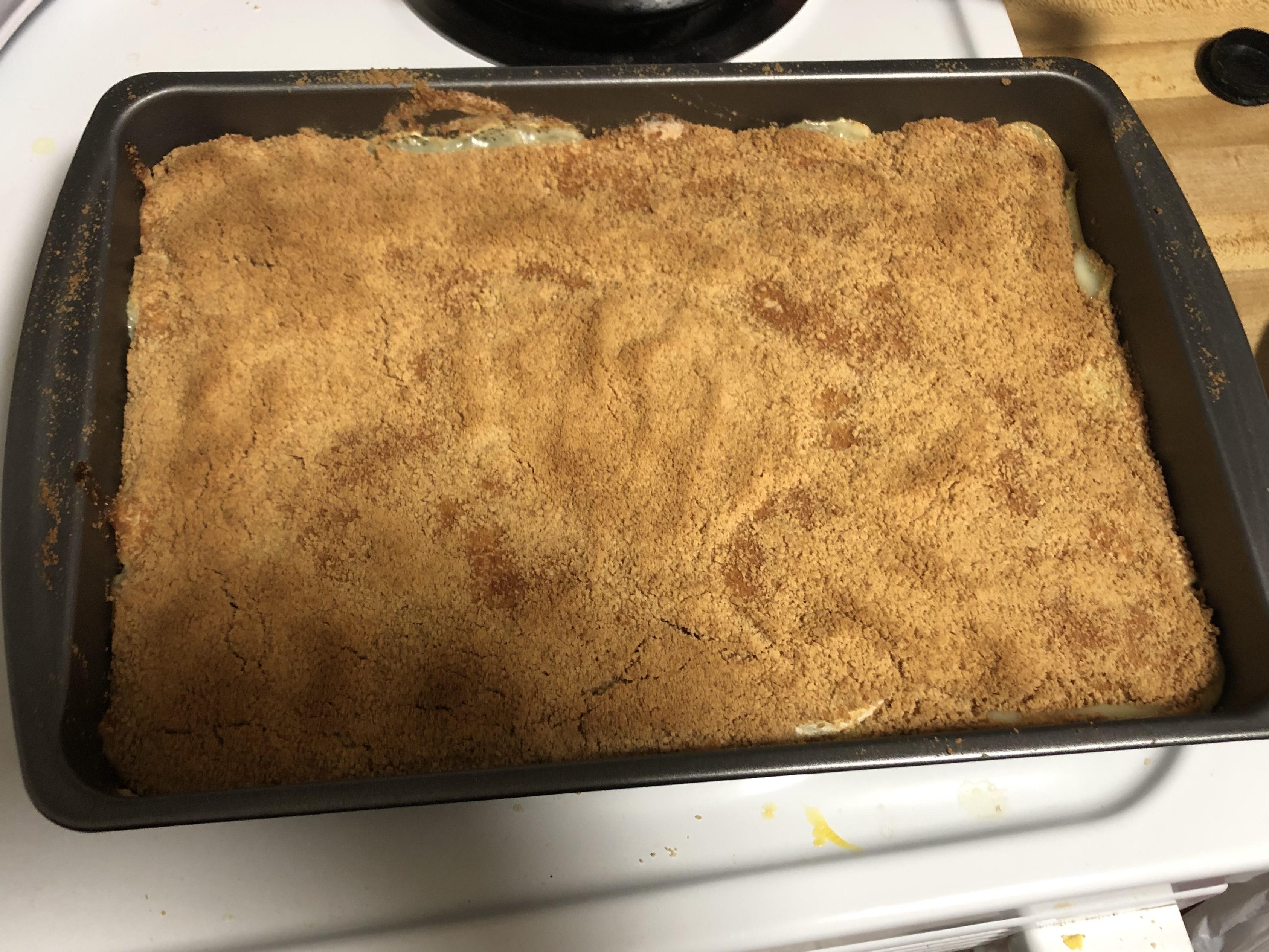 Grandma's Graham Cracker Pudding