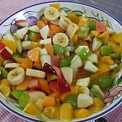 very easy fruit salad recipe