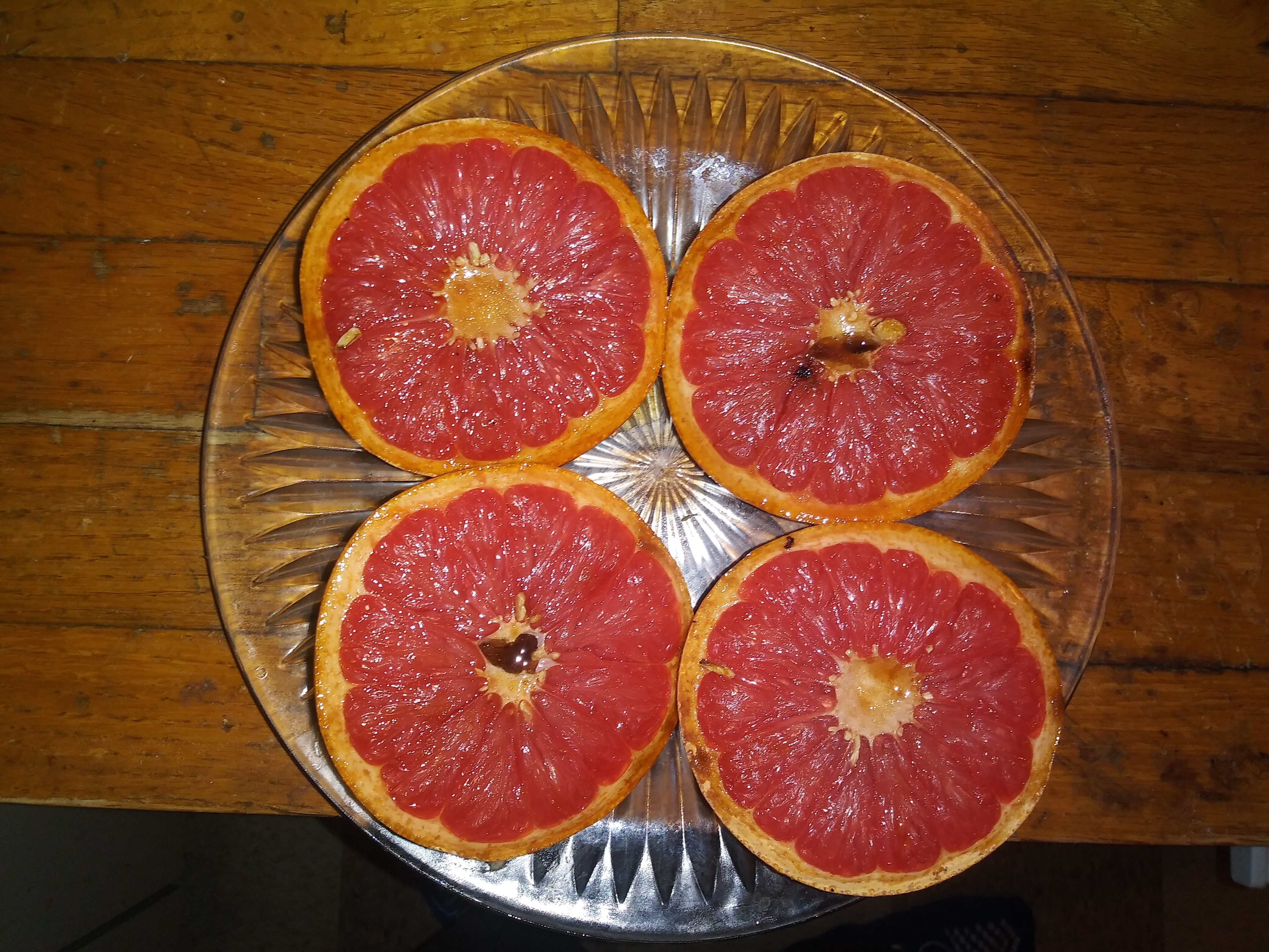 Simple Broiled Grapefruit Robert E Robey