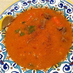 Lamb Barley Soup oranaise