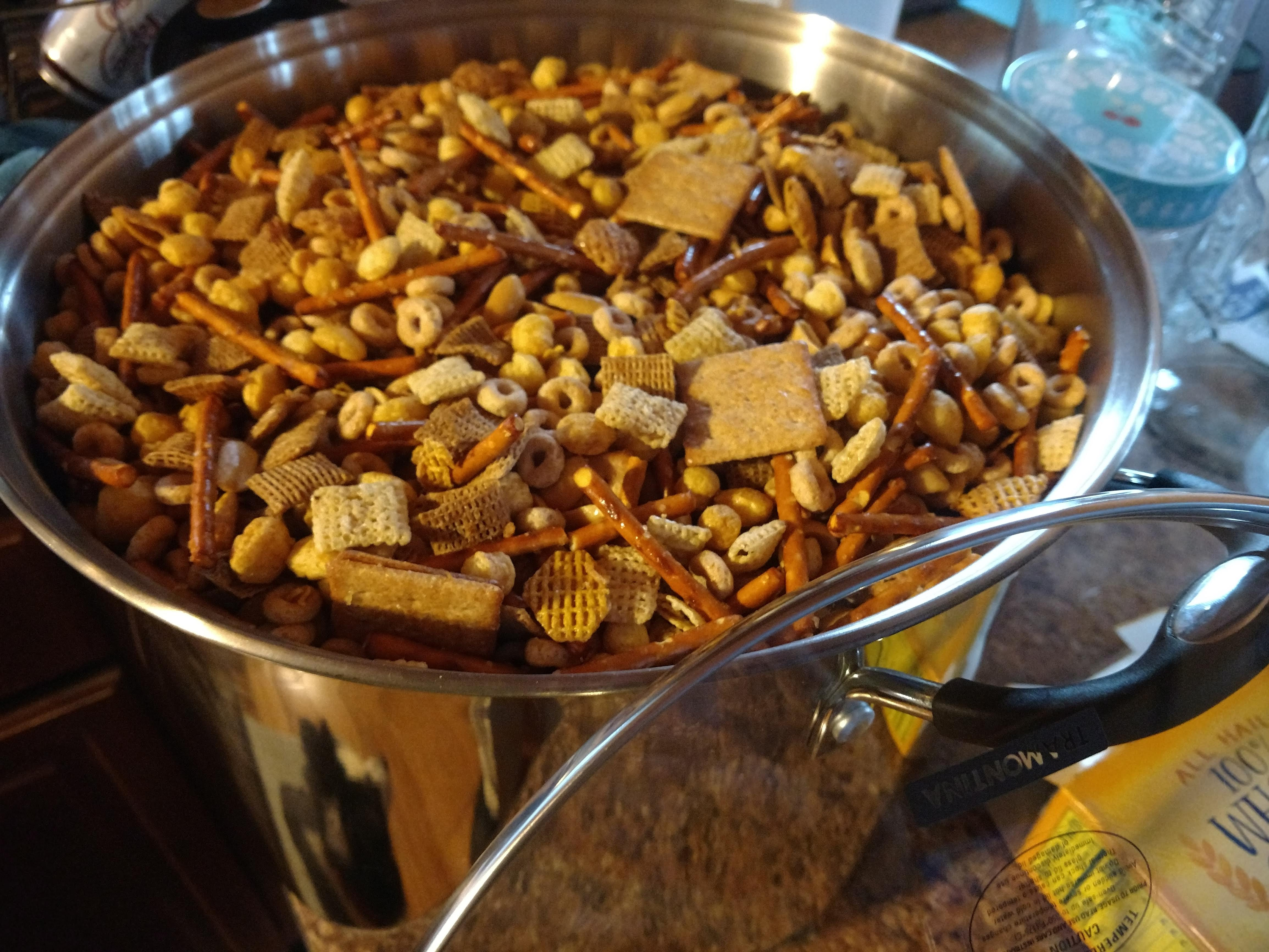 Homemade Chex® Party Mix