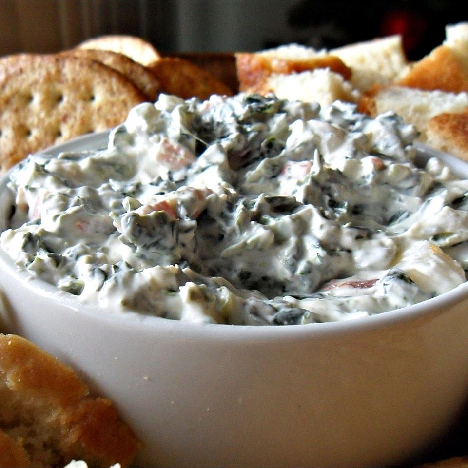 Best Spinach Dip Ever Shawna