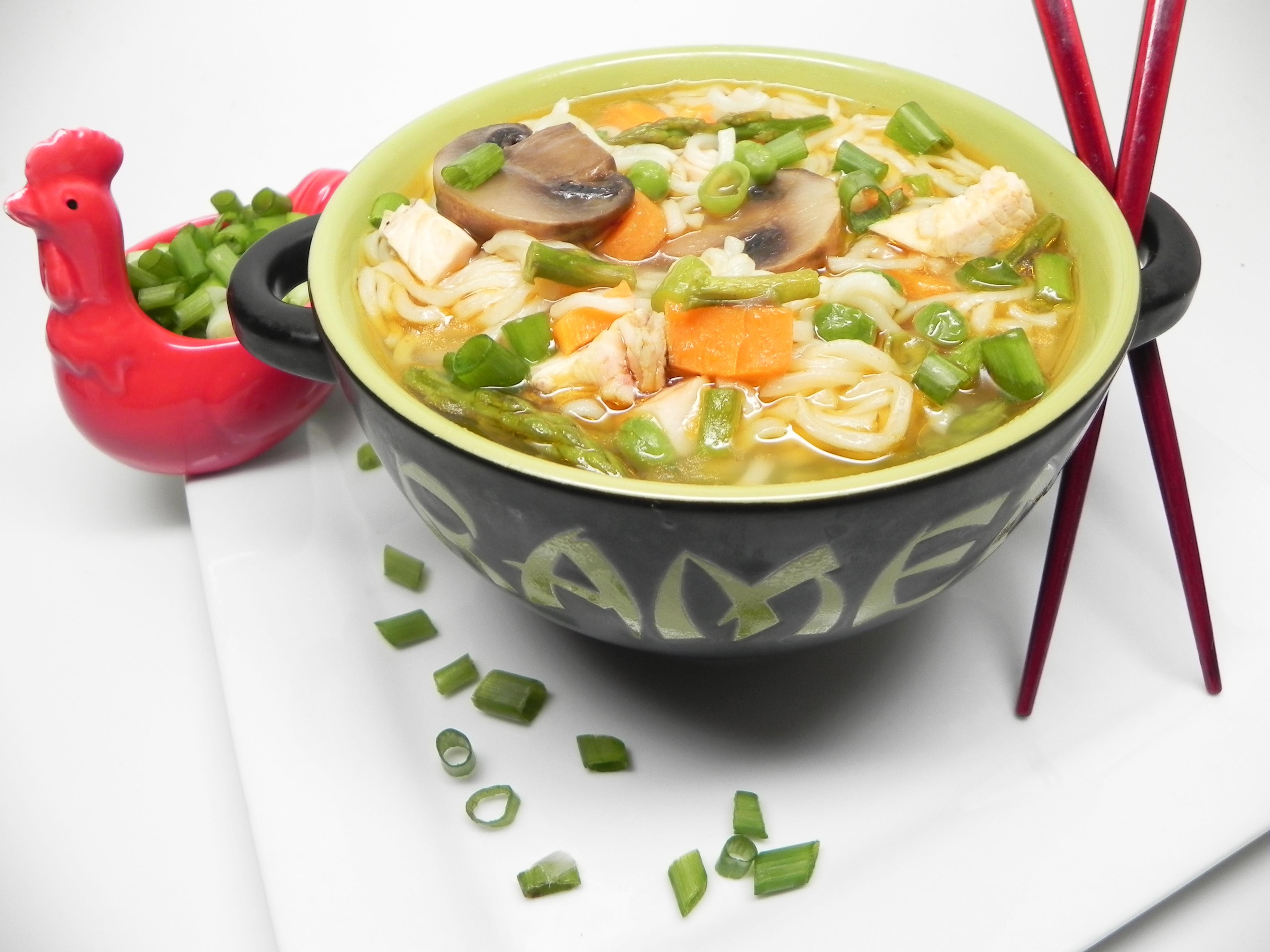 Instant Pot® Jazzed-Up Instant Ramen Noodle Soup