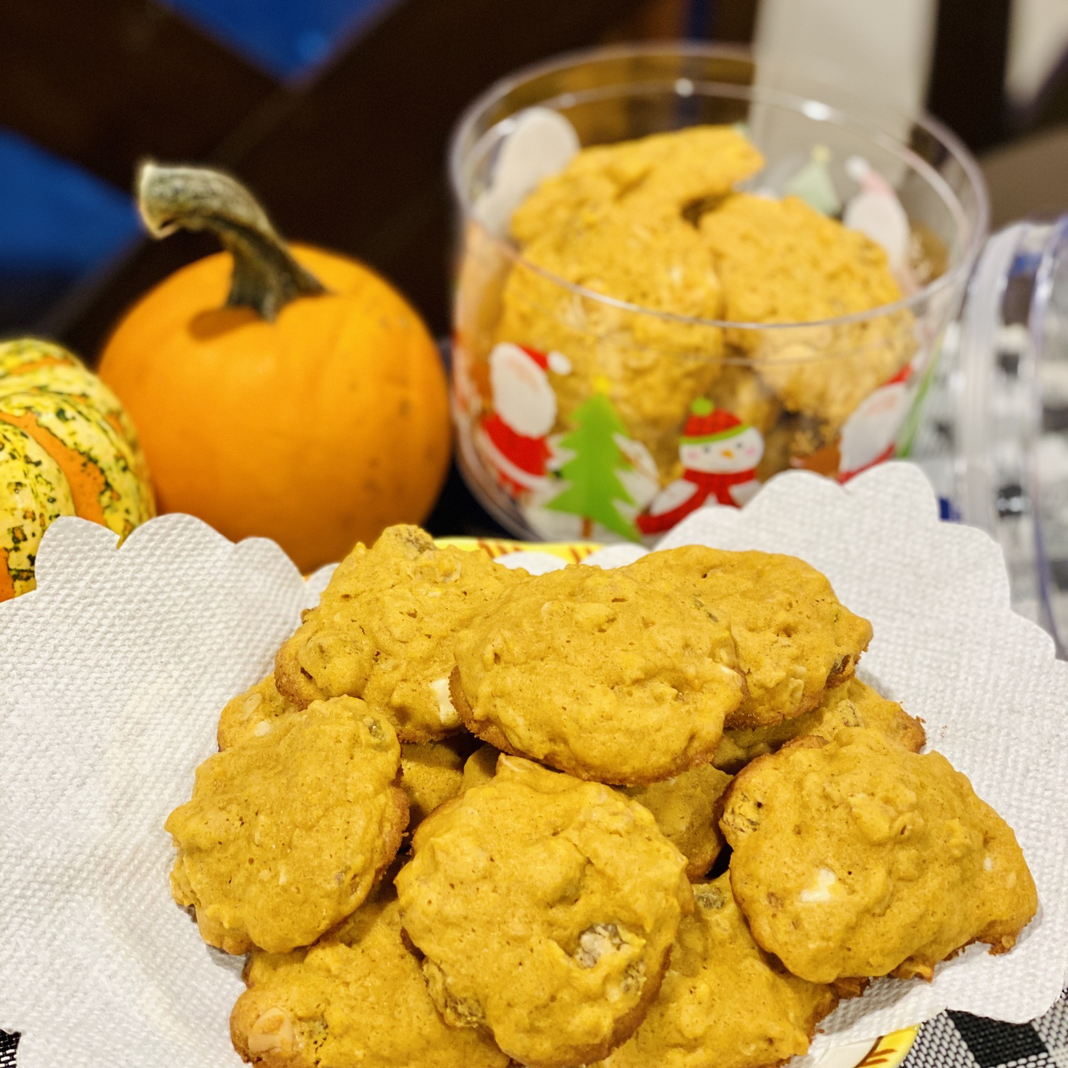 Soft and Chewy Pumpkin Cookies Fitri Buchanan