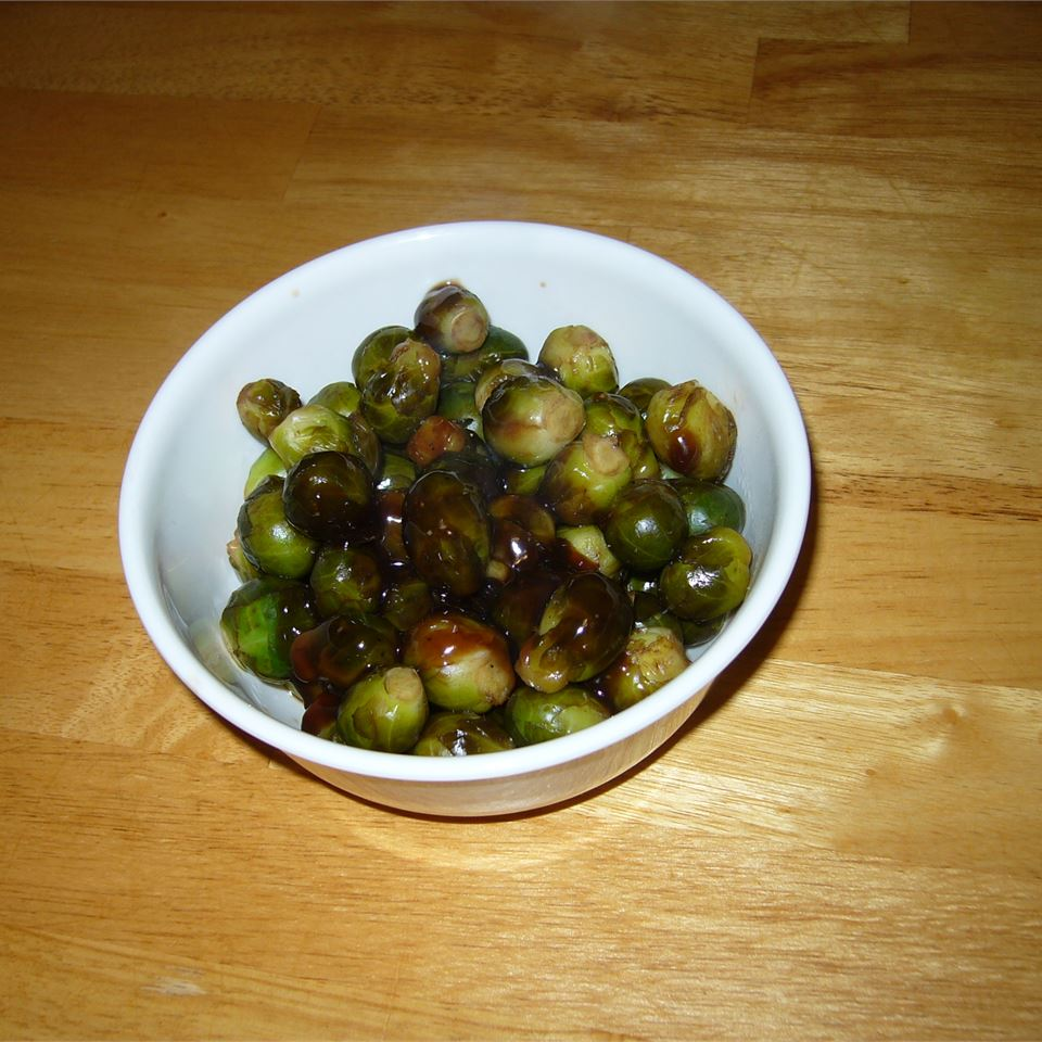 Sweet & Sour Brussels Sprouts 5Foot3