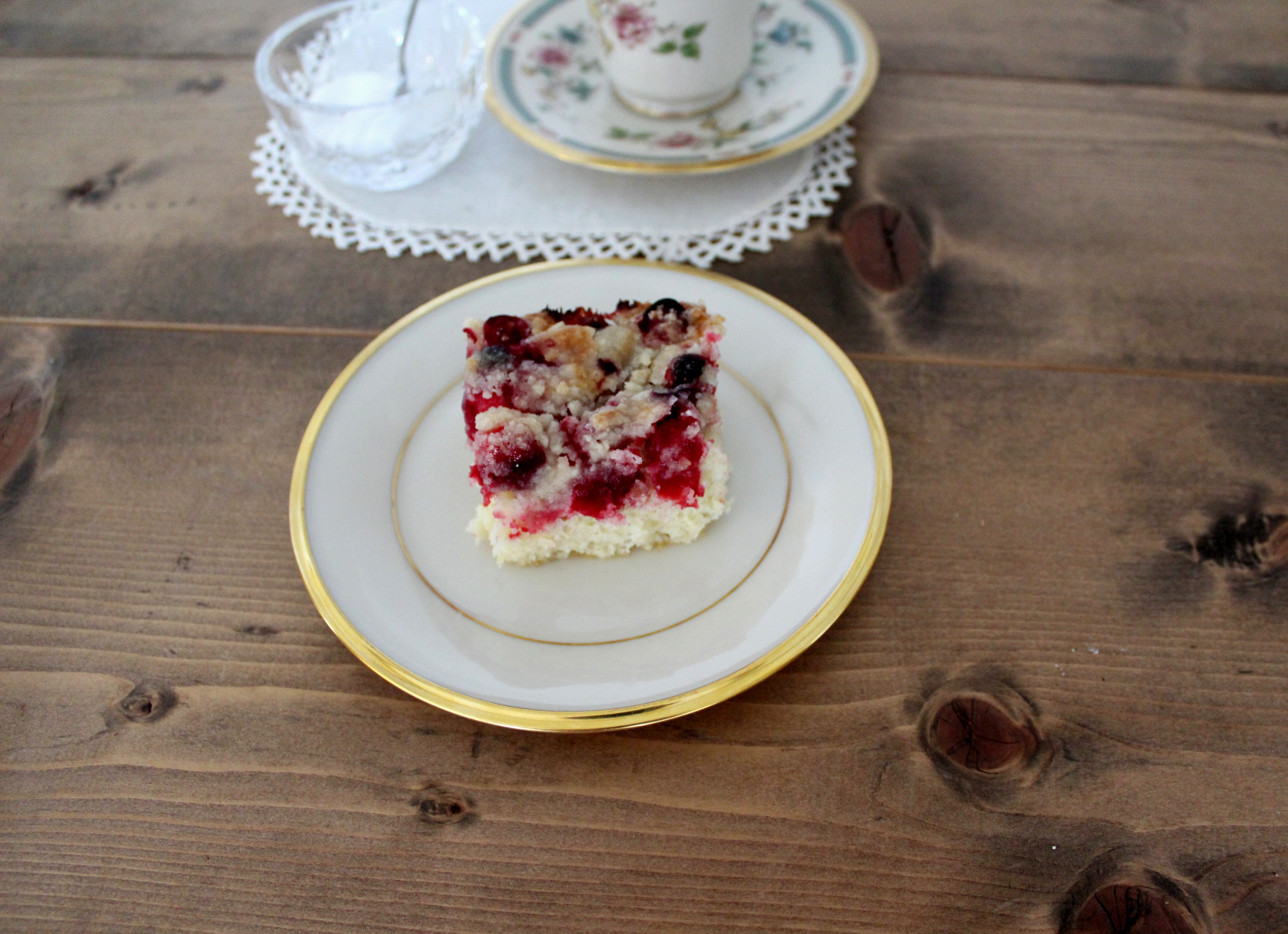 Nana's Cranberry Kuchen shogren