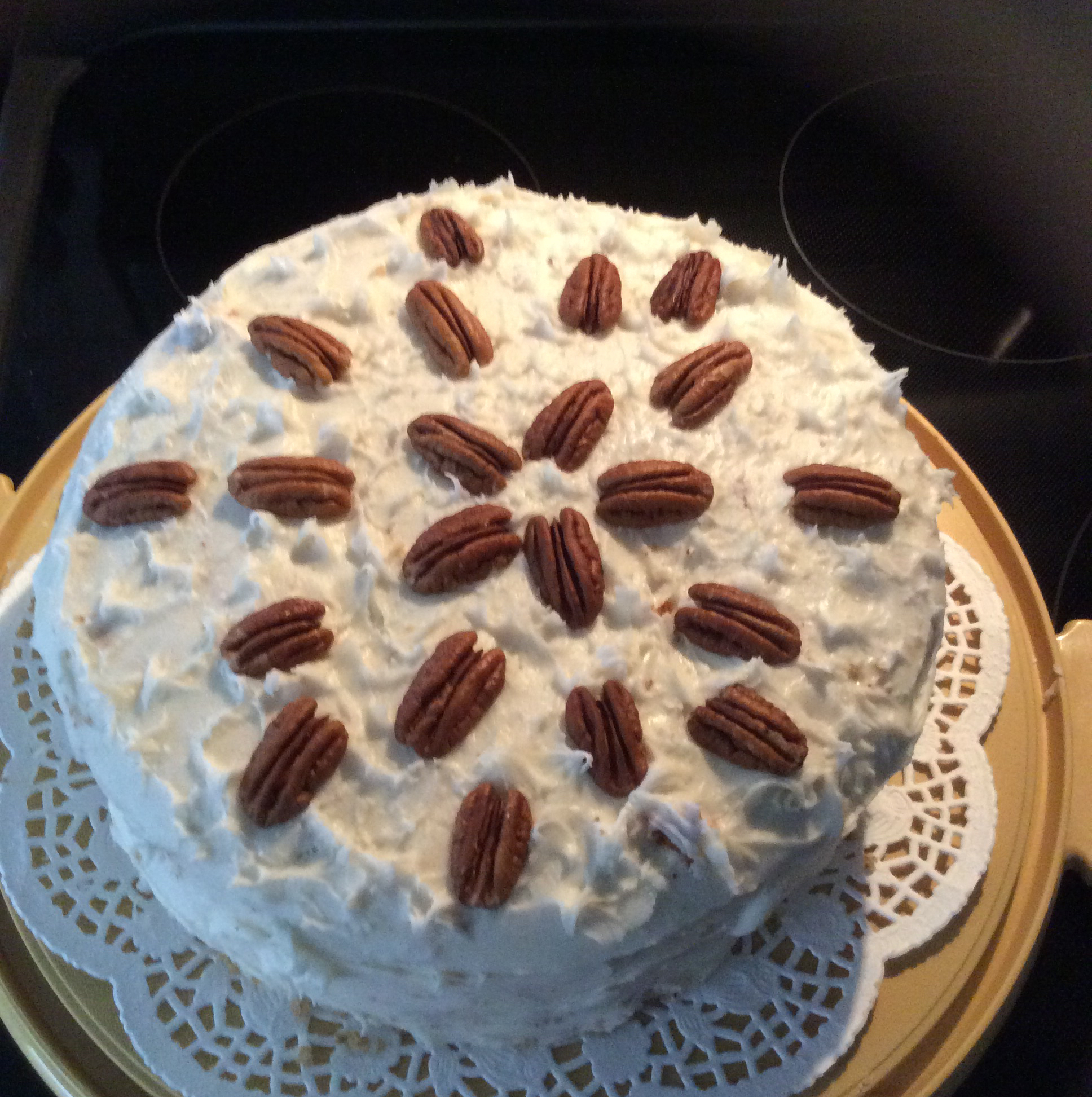 Never Fail Applesauce Spice Cake