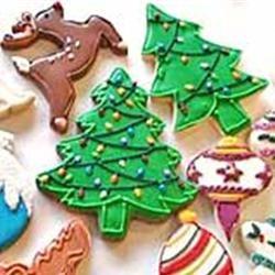 Christmas Tree Cookies SUGARPLUMSCOOKIES