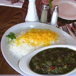 Vegetarian Ghormeh Sabzi