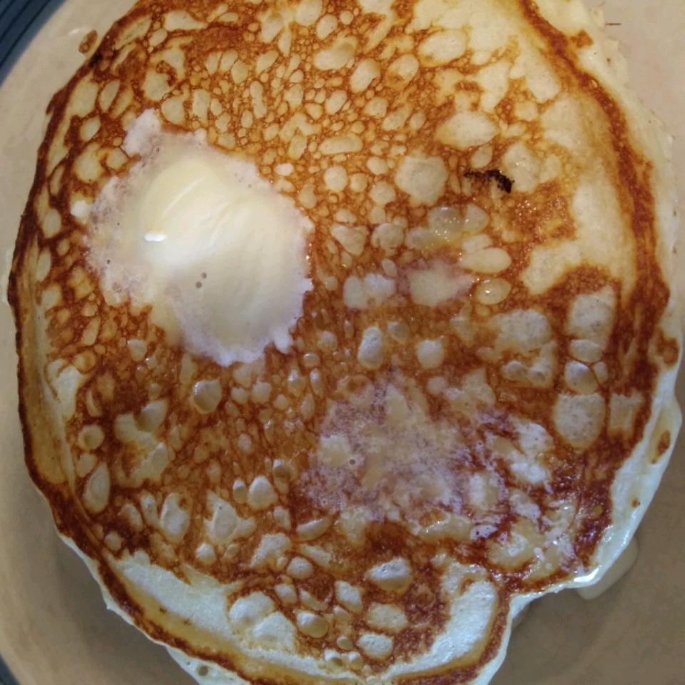 Buttermilk Pancakes with Vanilla and Nutmeg Alcinda Wolff