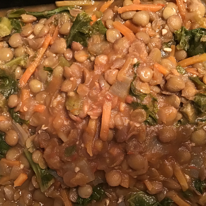 Amazing Lentils and Kale