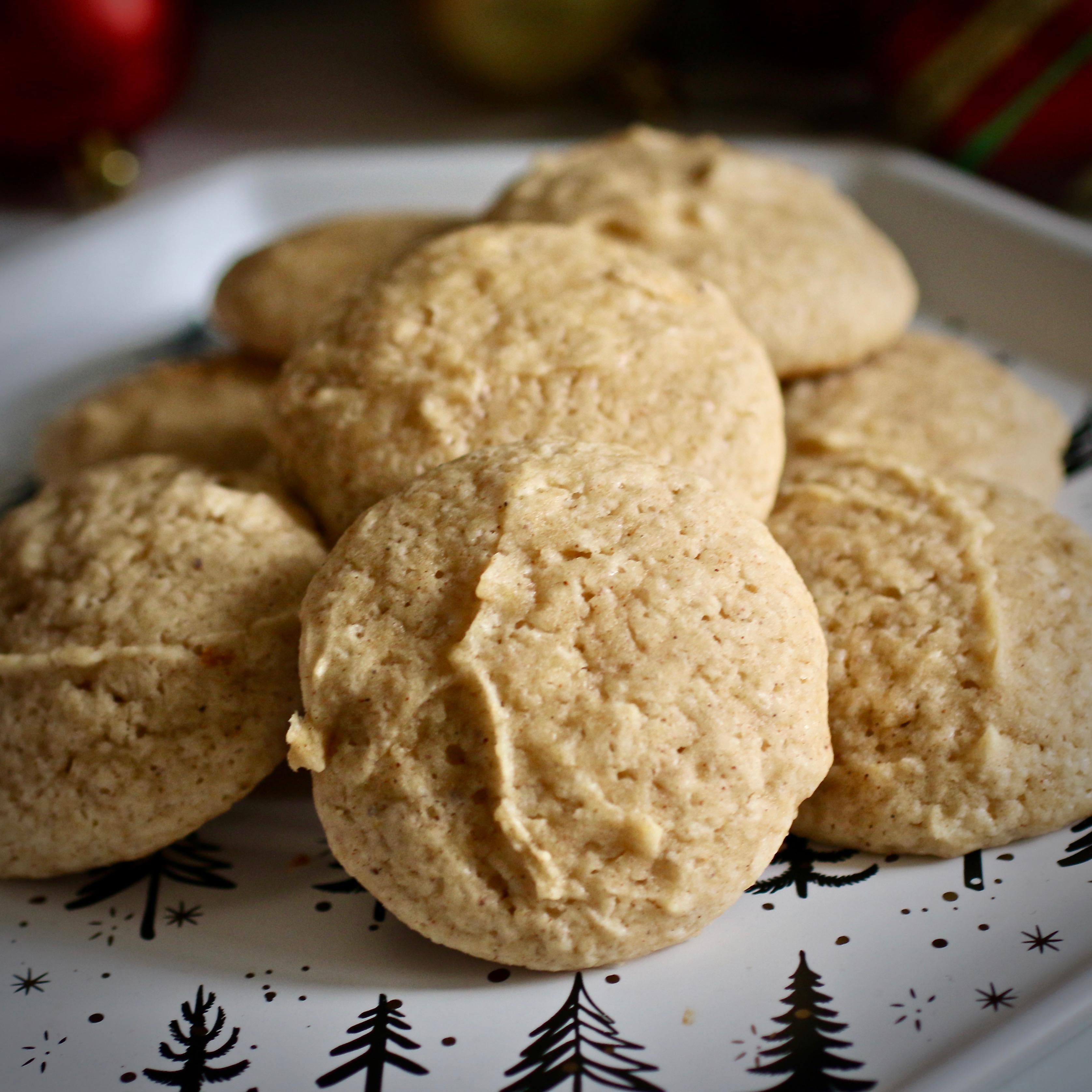 Eggnog Cookies I Maureen