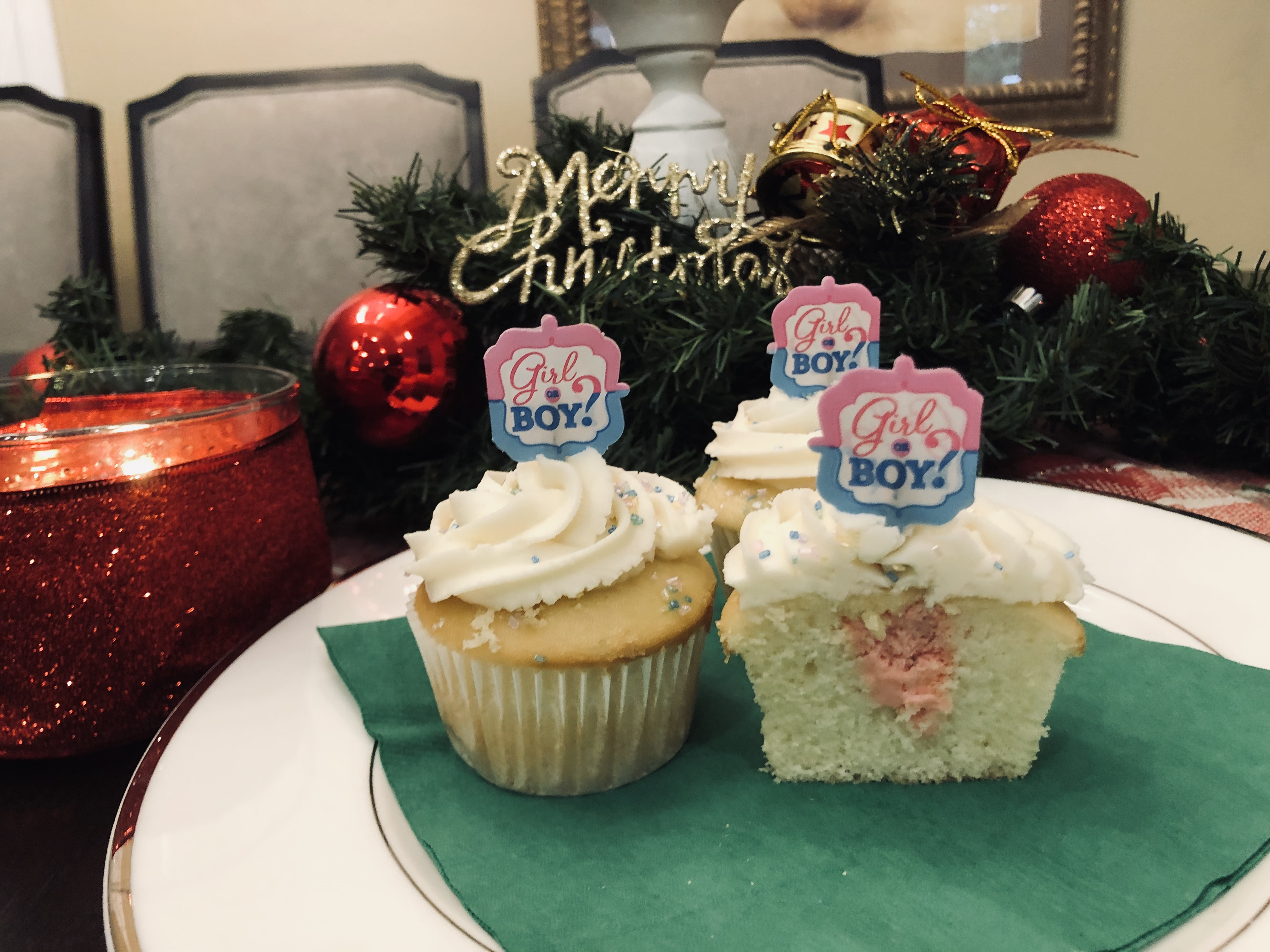 Best Gender Reveal Cupcakes Ever!