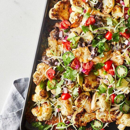 Cauliflower Chicken Nachos Breana Killeen