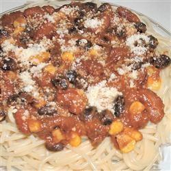 Spaghetti with a Kick Erimess