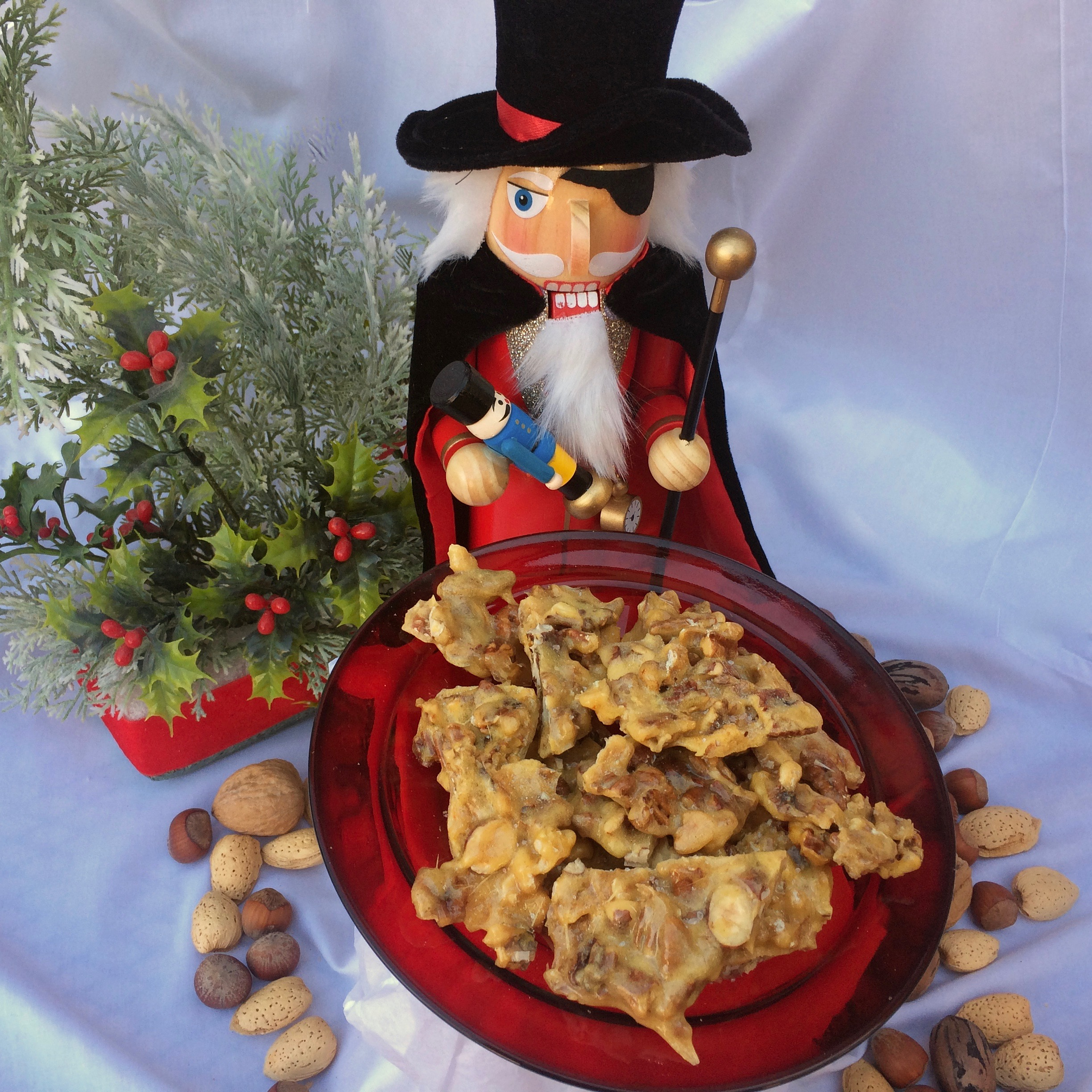 """""""Nutcracker"""" Mixed-Nut Brittle in the Microwave"""