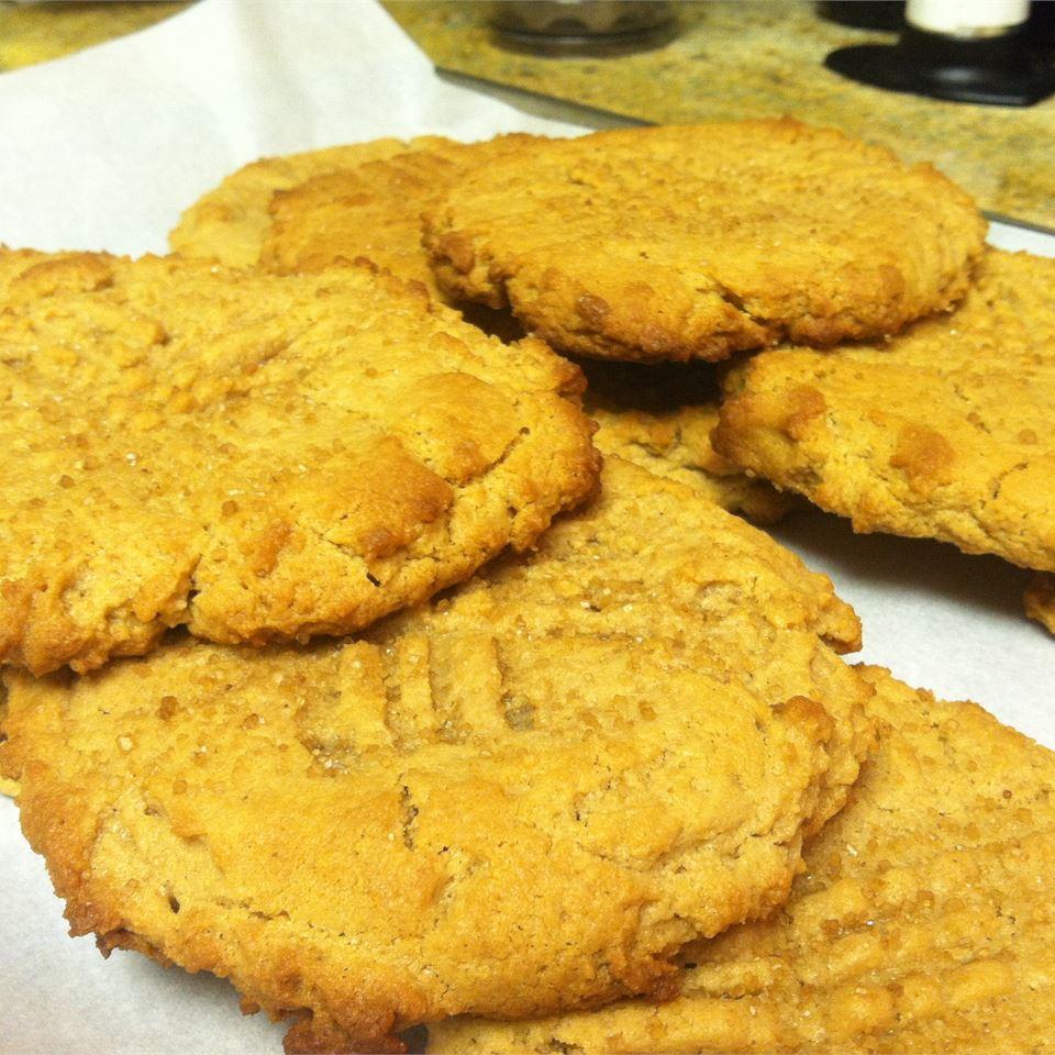 Eggless Peanut Butter Cookies slider1578