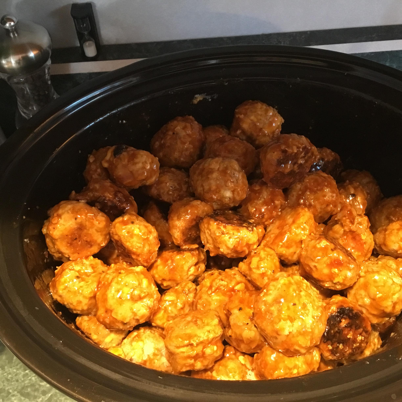 Spicy Buffalo-Style Meatballs MJTurner