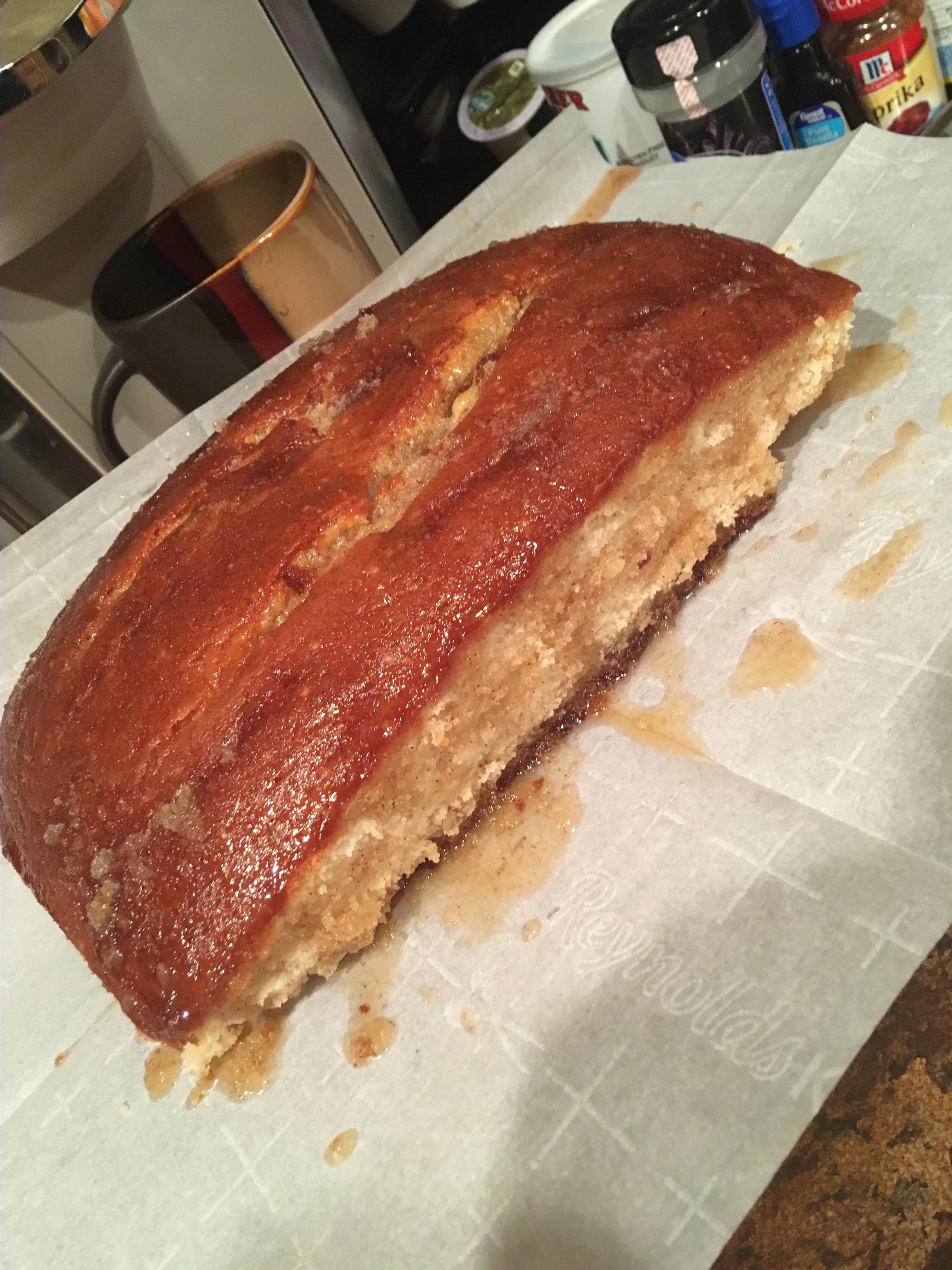 Buttery Cinnamon Cake