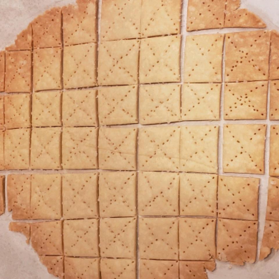 Gluten-Free Butter Crackers Brenna Slather