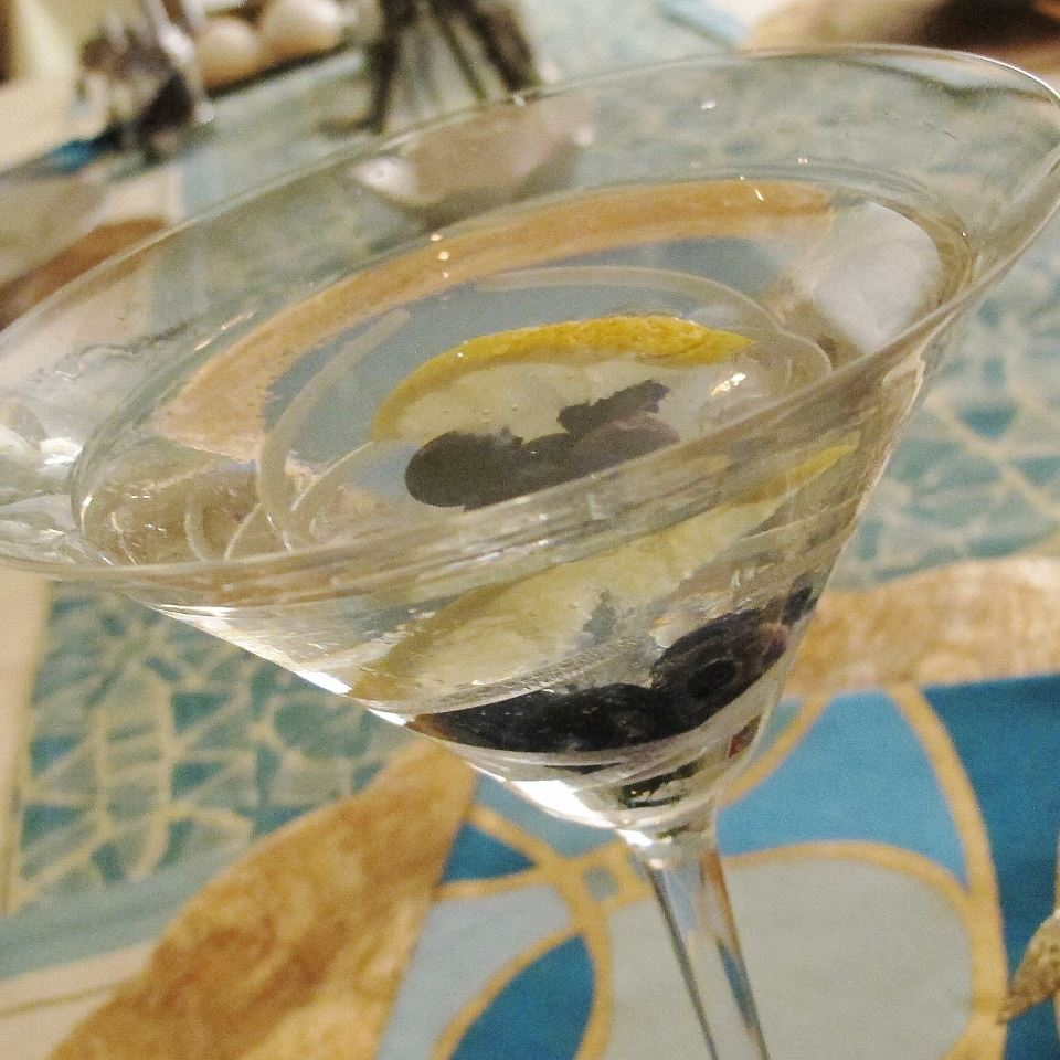 Lemon-Blueberry Martini Abbie