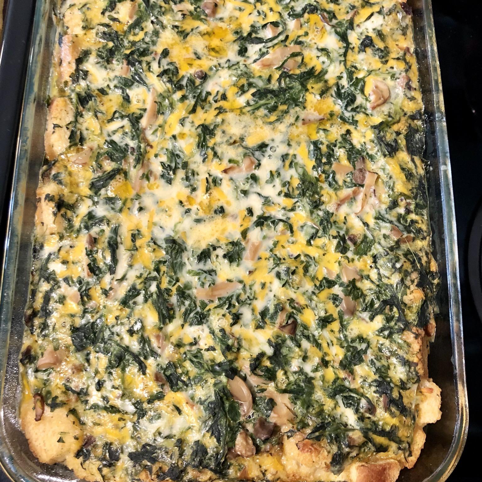 Make Ahead Breakfast Casserole Tel703